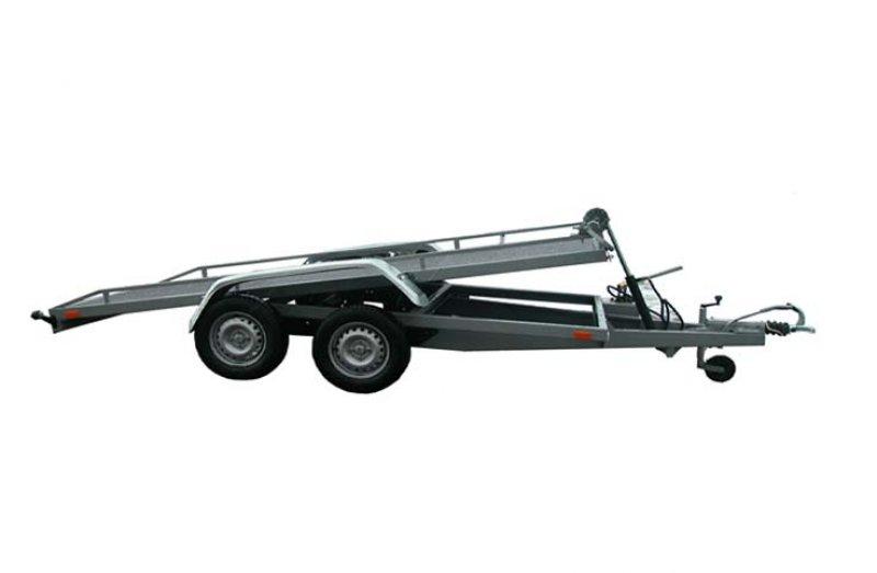 Remorca transport snowmobil