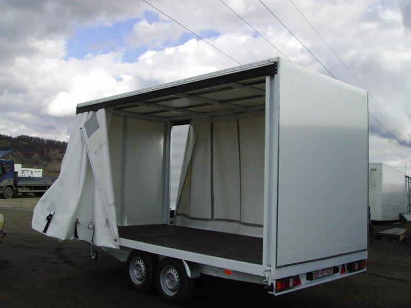 Caroserie utilitara camion cu prelata culisanta