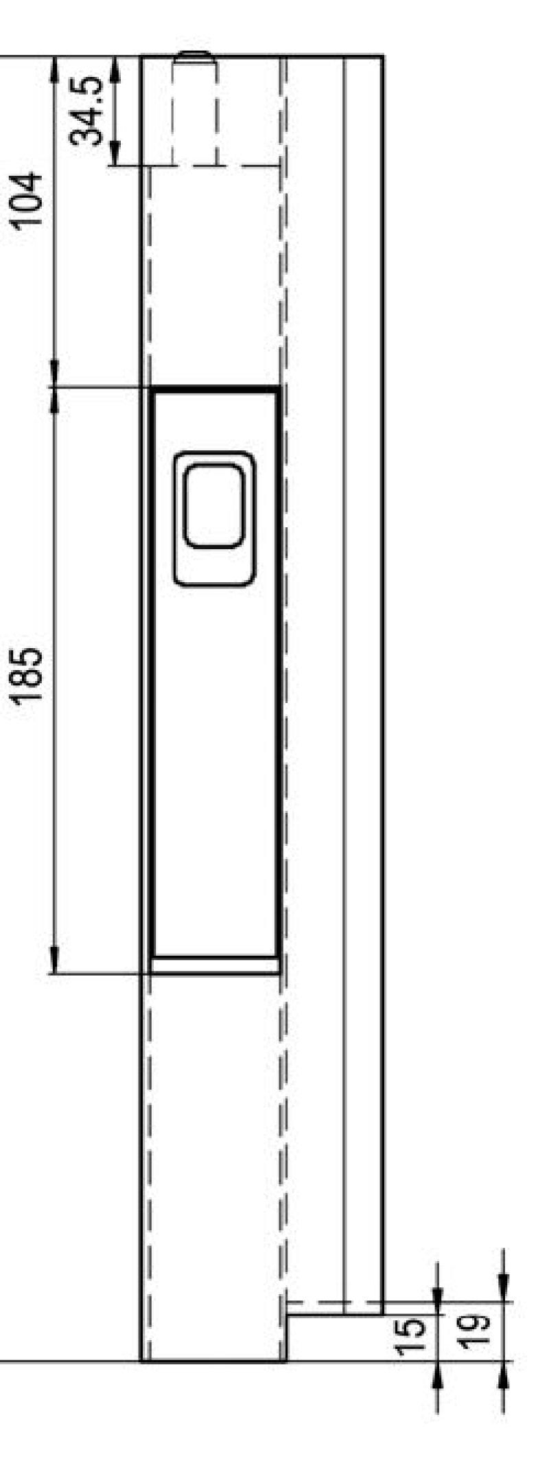 Inchizator tip Z pentru oblon 400 mm