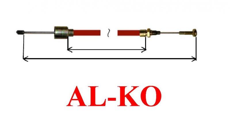 Cablu frana AL-KO scurt cu ciuperca