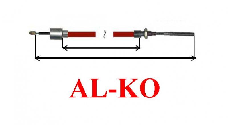Cablu frana AL-KO lung cu filet