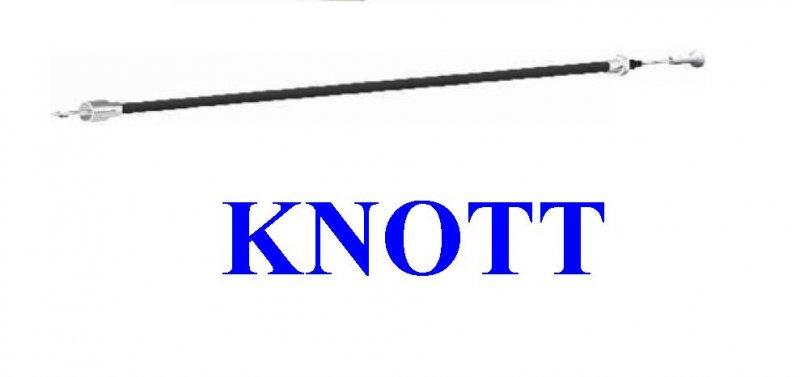 Cablu frana scurt KNOTT