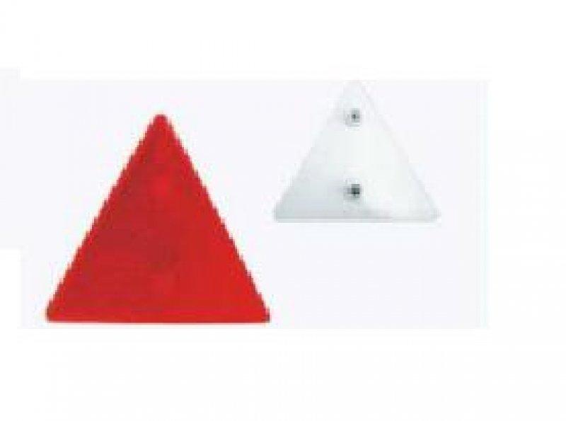 Catadioptru triunghi cu surub