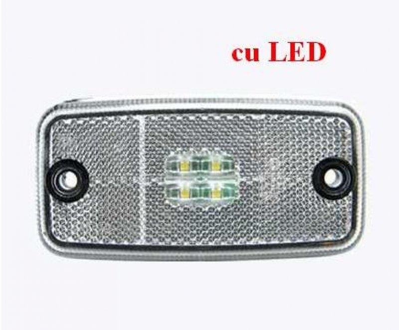 Lampa gabarit cu led FT 19 alba