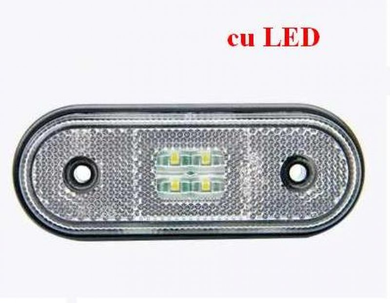 Lampa gabarit cu led FT 20 alba