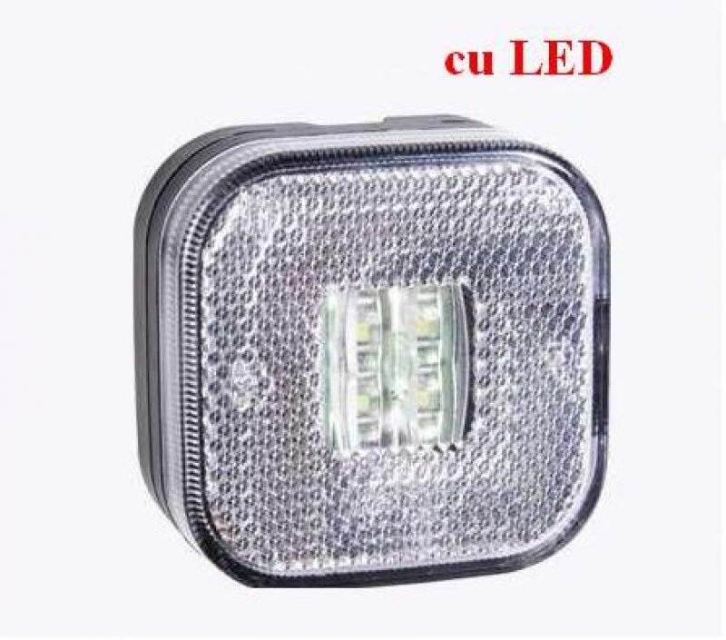 Lampa gabarit cu led FT 27 alba